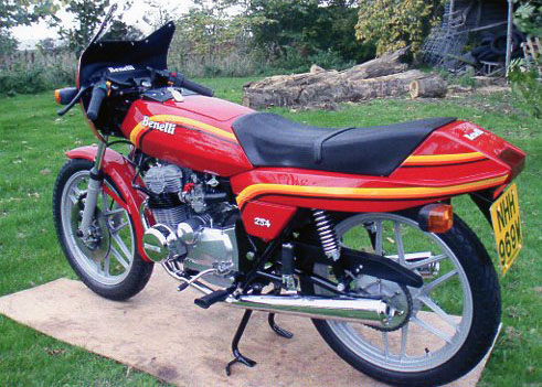 Recent restoration of MBenelli 250 4 cylinder motorcycle